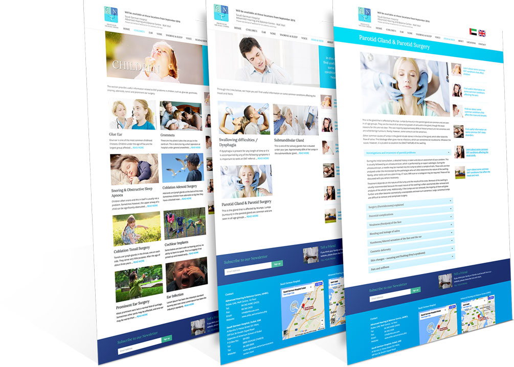 Prof. Michael Timms - Responsive Website Landing Pages